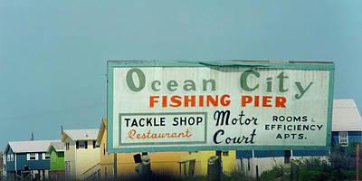 Topsail Island 1996 Ocean City Poster by Betsy Knapp