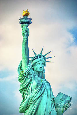 Poster featuring the photograph Torch Of Liberty by Nick Zelinsky