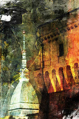 Torino Poster by Andrea Barbieri