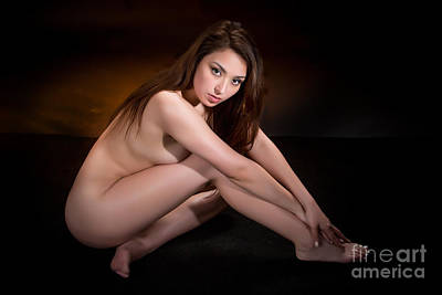 Toriwaits Nude Fine Art Print Photograph In Color 5084.02 Poster