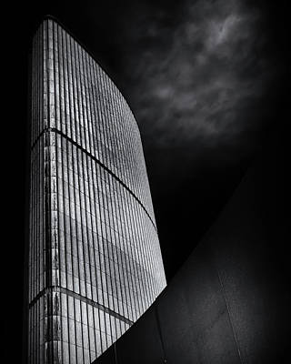 Poster featuring the photograph Toronto City Hall No 5 by Brian Carson