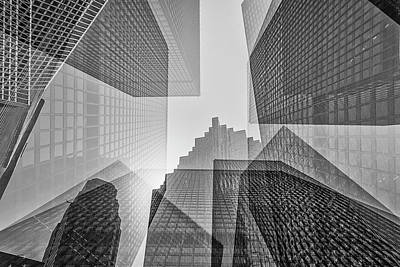 Toronto Financial District Poster