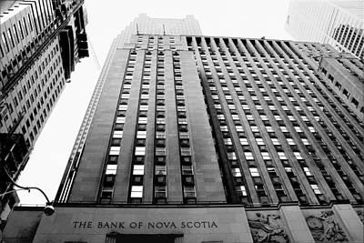 Toronto Historic Building Poster by Valentino Visentini