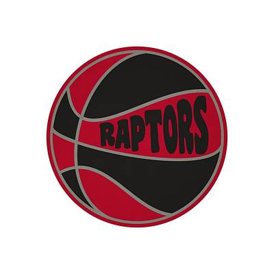 Toronto Raptors Retro Shirt Poster by Joe Hamilton