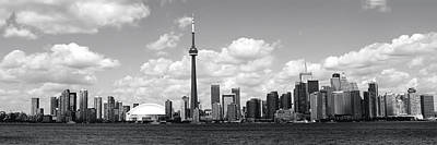 Toronto Skyline 11 Poster by Andrew Fare