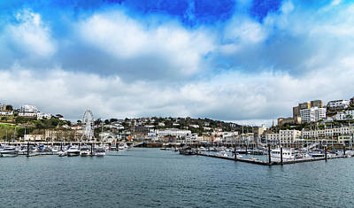 Poster featuring the photograph Torquay Devon by Scott Carruthers