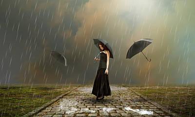 Torrential Rain Poster