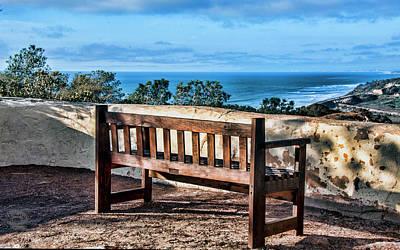 Torrey Pines View Poster by Daniel Hebard