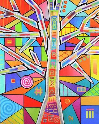 Totem Tree Poster