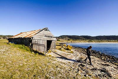 Tourist In East Coast Tasmania Poster by Jorgo Photography - Wall Art Gallery