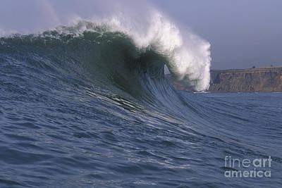 Toward The Cliffs Poster