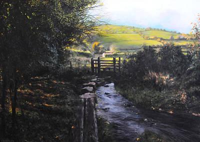 Towards Llanferres Poster by Harry Robertson
