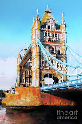 Tower Bridge Poster by Nica Art Studio