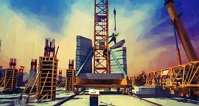 Tower Crane Poster