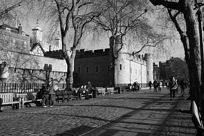 Tower Of London, England Poster by Aidan Moran