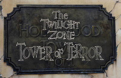 Tower Of Terror Poster by David Nicholls