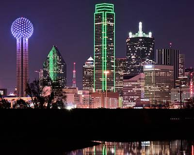 Towering Over Dallas Poster by Frozen in Time Fine Art Photography