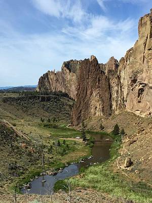 Towering Smith Rocks Poster