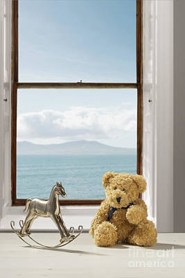 Toys Overlooking The Ocean Poster by Amanda Elwell