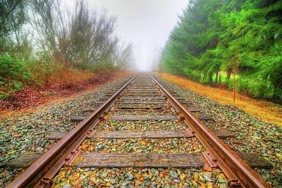 Tracks Through My Heart Poster