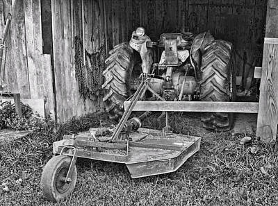 Poster featuring the photograph Tractor by Denise Romano