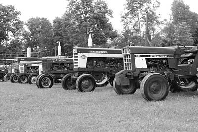 Poster featuring the photograph Tractor Show 2016 by Rick Morgan