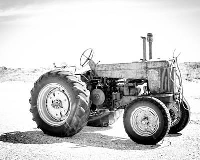 Poster featuring the photograph Tractor by Silvia Bruno