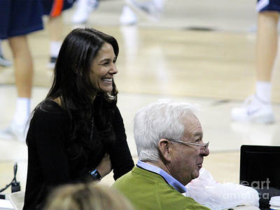 Tracy Wolfson Bill Raftery I  Poster