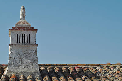 Traditional Algarve Chimney And Roof Poster