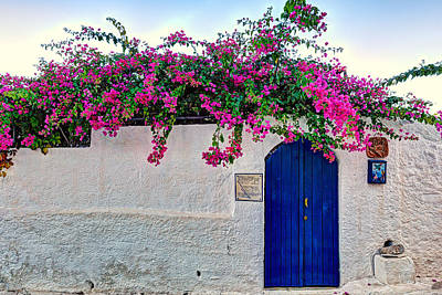 Traditional House At Metochi In Agistri Island - Greece Poster by Constantinos Iliopoulos
