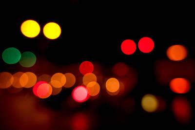 Traffic Lights Number 12 Poster by Steve Gadomski