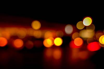 Traffic Lights Number 9 Poster by Steve Gadomski