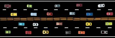 Poster featuring the photograph Traffic - Panorama by Nikolyn McDonald