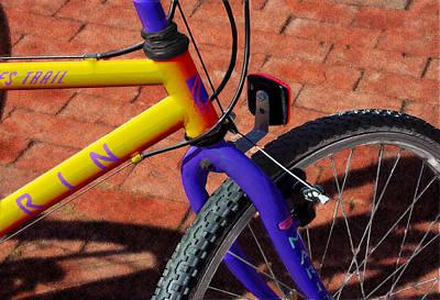 Trail Bike Poster by Paul Wear