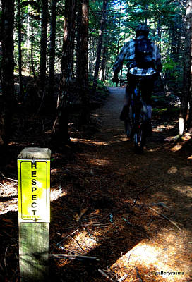 Trail Respect Poster