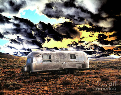Poster featuring the photograph Trailer by Jim and Emily Bush