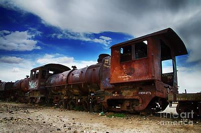 Train Graveyard Uyuni Bolivia 15 Poster