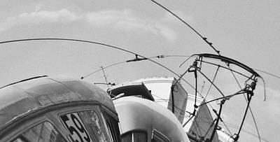 Tram Number 59 Poster by Evgeniy Lankin