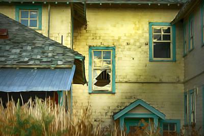 Tranquille Sanatorium Poster by Theresa Tahara
