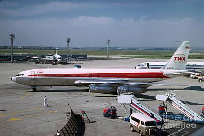 Trans World Airlines Twa Boeing 707 N780tw Poster by Wernher Krutein