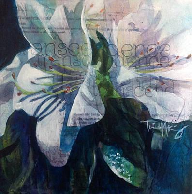 Transcendence - Azalea Poster by Trish McKinney