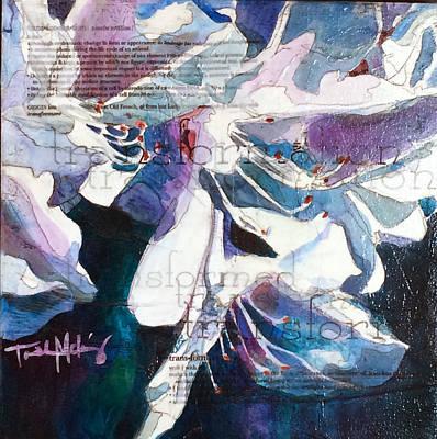 Transformation - White Azalea Poster by Trish McKinney