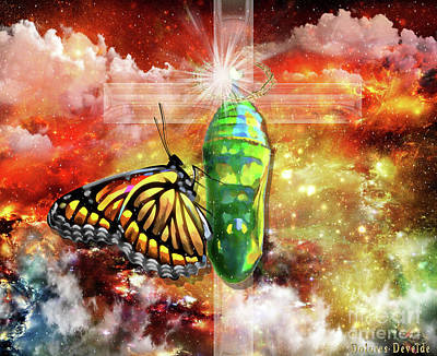 Transformed By The Truth Poster by Dolores Develde