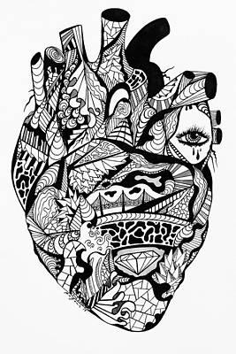 Transparent Heart Poster