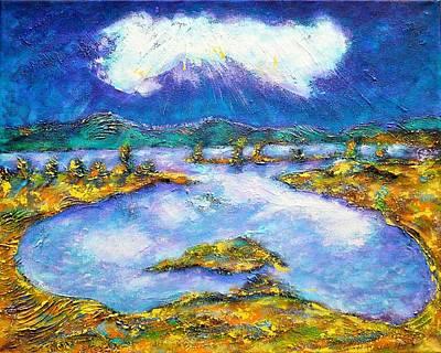 Transylvanian Landscape Poster by Ion vincent DAnu