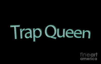 Trap Queen Tee Poster