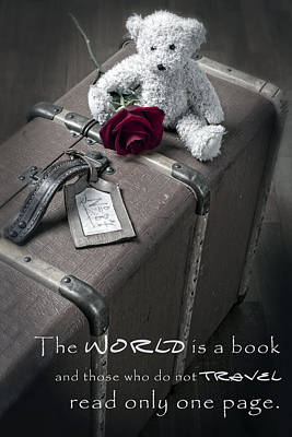 Travel The World Poster by Joana Kruse