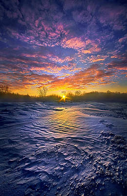 Traveled By Many, Remembered By Few Poster by Phil Koch
