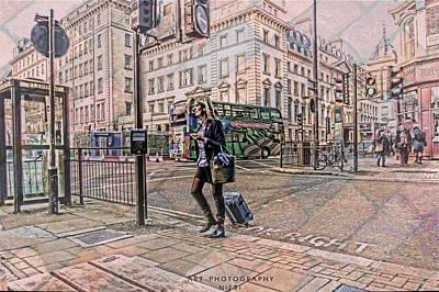 Traveling  Poster by Nicole Frischlich