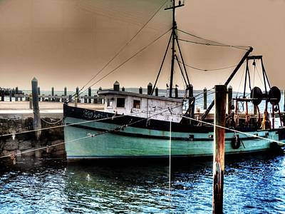 Trawler Bristol Ri Poster